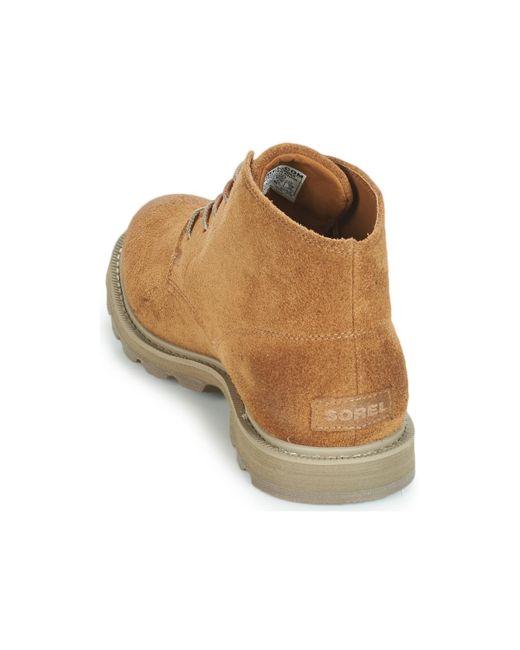 Boots Sorel pour homme en coloris Brown