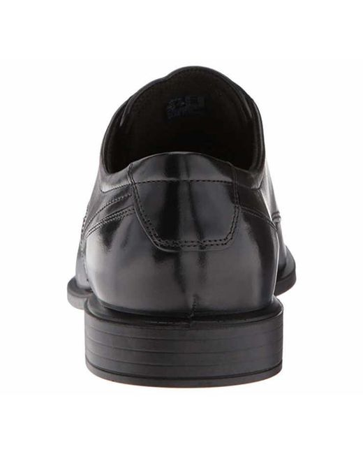 Ecco Leather Formal Shoes Black Cairo