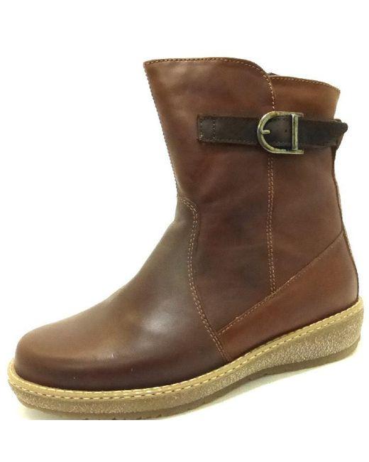 Waldläufer Brown Winter Boots