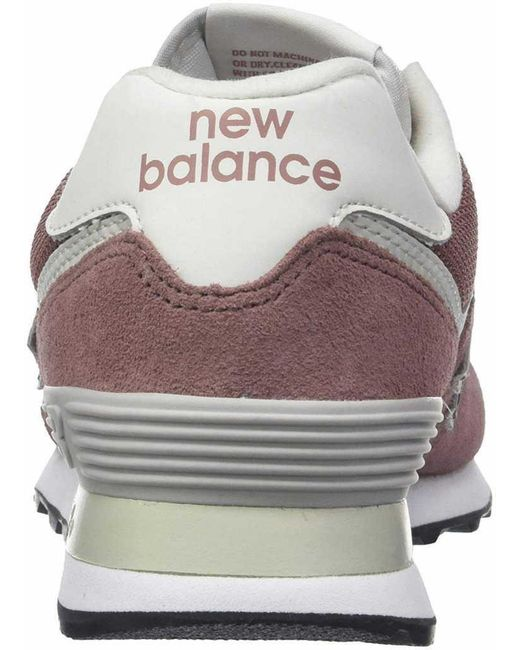 New Balance Suede Wo Trainers Red 658621 50 13 Lyst