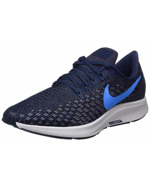 b20cdbcac37d Nike Trainers Blue Air Zoom Pegasus 35 in Blue for Men - Lyst