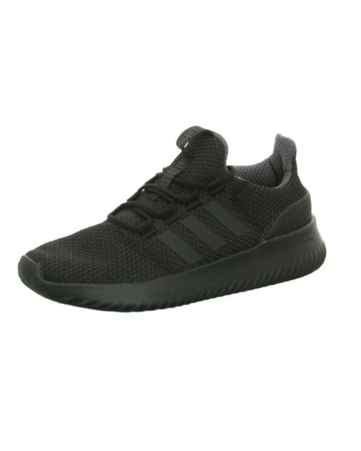 Adidas - Casual Lace-ups Black Cloudfoam Ultimate Sneaker for Men - Lyst ... 5fce2de4a