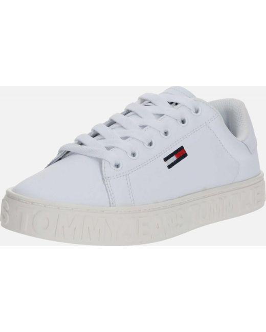 Tommy Hilfiger Multicolor Wo Trainers White Cool Tommy Jeans Sneaker En0en00877