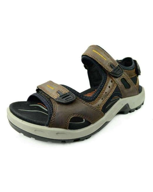 Ecco Comfort Sandals Brown Nv in Brown for Men - Lyst 94dc45ea4b