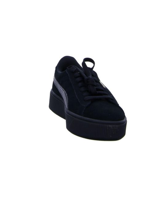 dcb1e438 PUMA Wo Trainers Black Vikky Stracked Sp in Black - Lyst