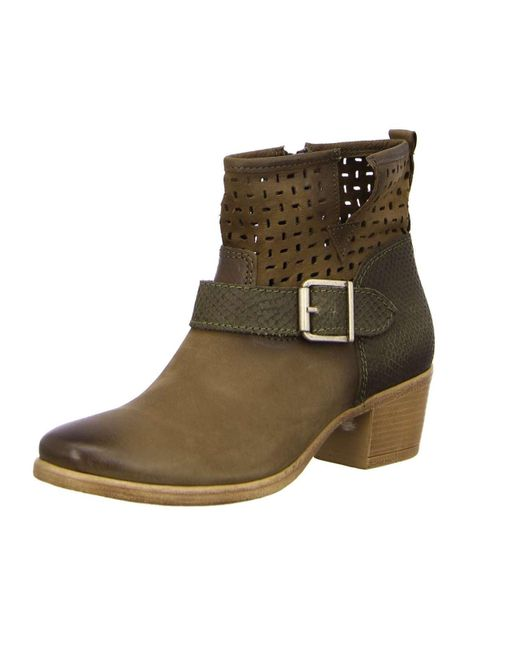 cost charm genuine shoes buy cheap Tamaris Wo Ankle Boots Beige Da.-stiefel - Lyst