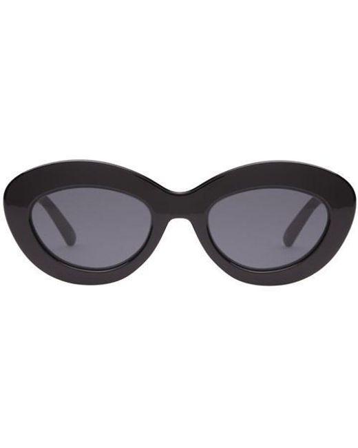 3cd2dbf0850 Lyst - Le Specs Fluxus Black in Black