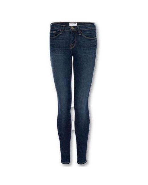 FRAME Blue Le Skinny De Jeanne Valley View