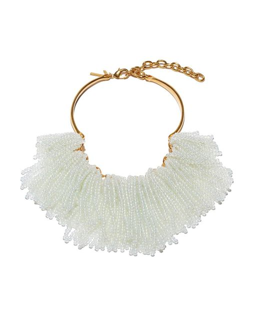 Lele Sadoughi   Multicolor Moonstone 'weeping Willow' Necklace   Lyst