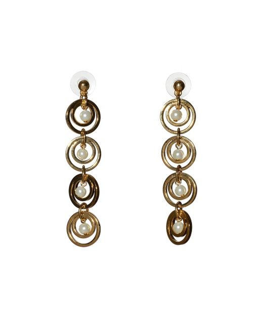 Lele Sadoughi | Metallic Tiered Hoop Earring | Lyst