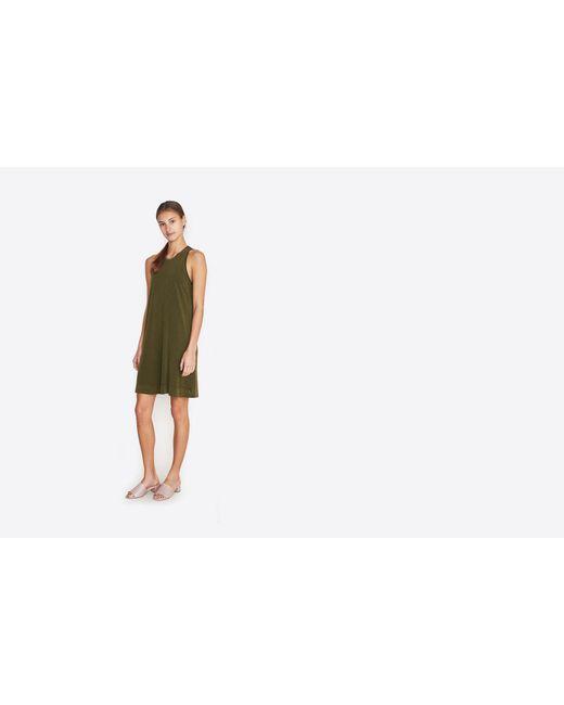 Raquel Allegra | White Vintage Jersey Tank Dress | Lyst