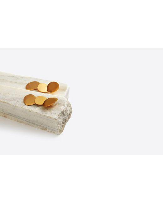 Lizzie Fortunato | Metallic Goldsworthy Disc Earrings | Lyst