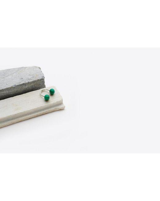 Saskia Diez - Green Amazonite Sling Ring - Lyst