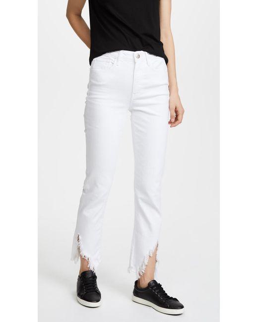 3x1 - White W3 Higher Ground Jeans - Lyst