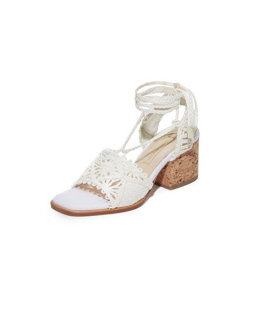 Paloma Barceló | White Cely City Sandals | Lyst