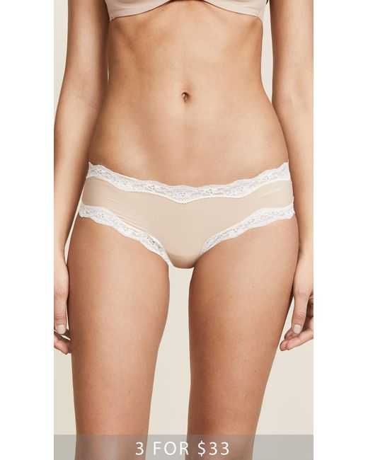 CALVIN KLEIN 205W39NYC - Multicolor Hipsters With Lace - Lyst