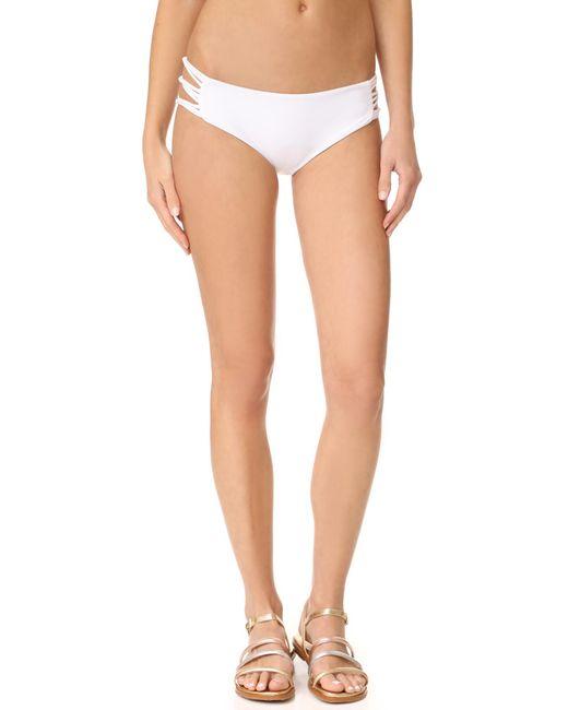 Mikoh Swimwear | Multicolor Barcelona Skinny String Bikini Bottoms | Lyst