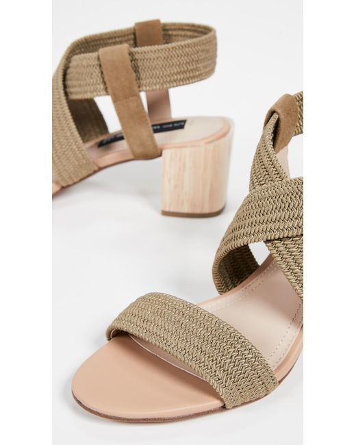 2ac0ff230eb7 ... Steven by Steve Madden - Green Release Strappy Sandals - Lyst ...