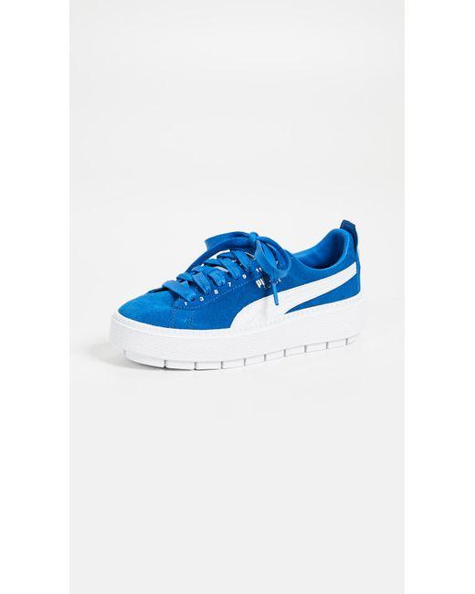 PUMA - Blue X Ader Error Platform Sneakers - Lyst ... a4cc37d52