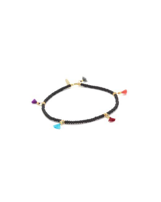 Shashi | Black Lilu Seed Bracelet | Lyst