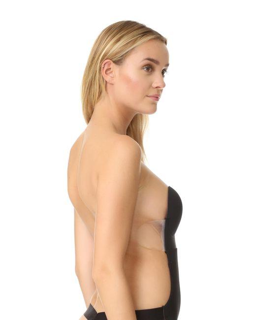 2afefb111c5 ... Fashion Forms - Black U Plunge Backless Strapless Bodysuit - Lyst ...
