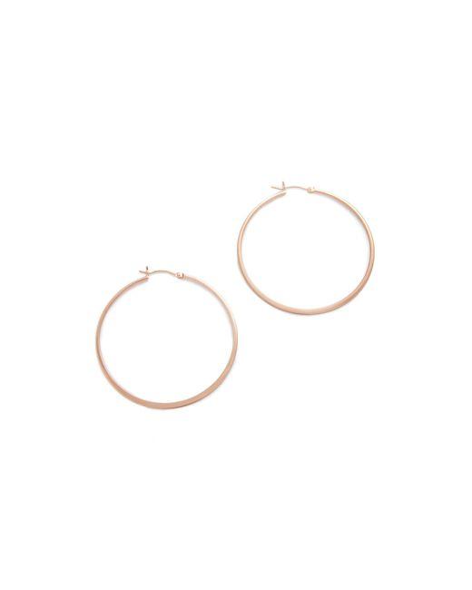 Jennifer Zeuner   Pink Small Hoop Earrings   Lyst