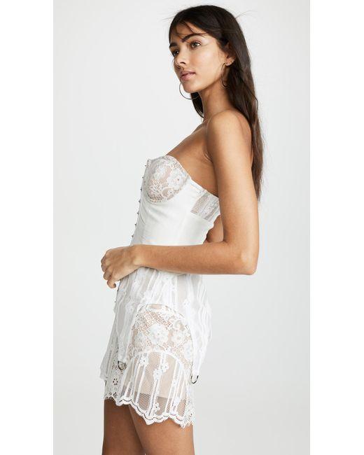 Women's White Alexandria Mini Dress