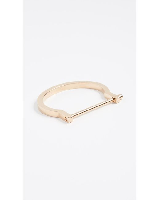 Miansai - Metallic Modern Screw Cuff - Lyst