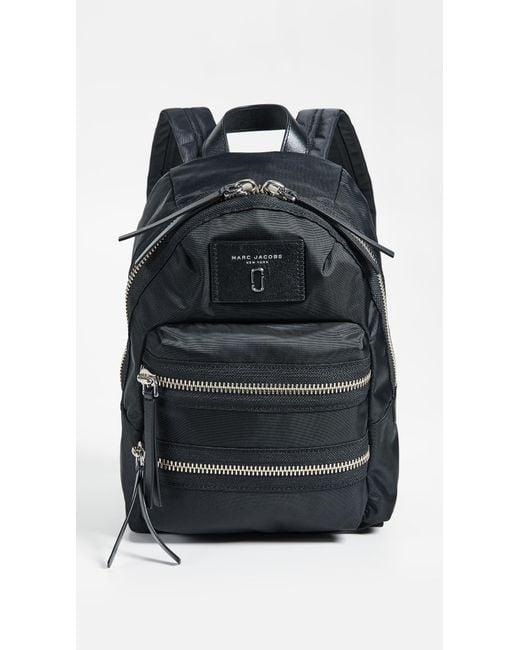 Marc Jacobs - Blue Mini Nylon Biker Backpack - Lyst