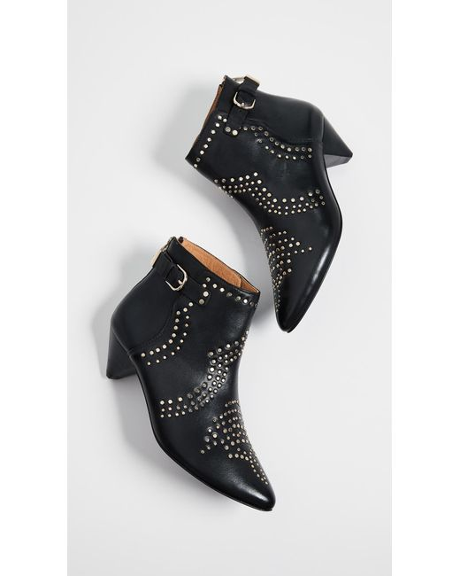 Joie - Black Bickson Stud Ankle Boot - Lyst