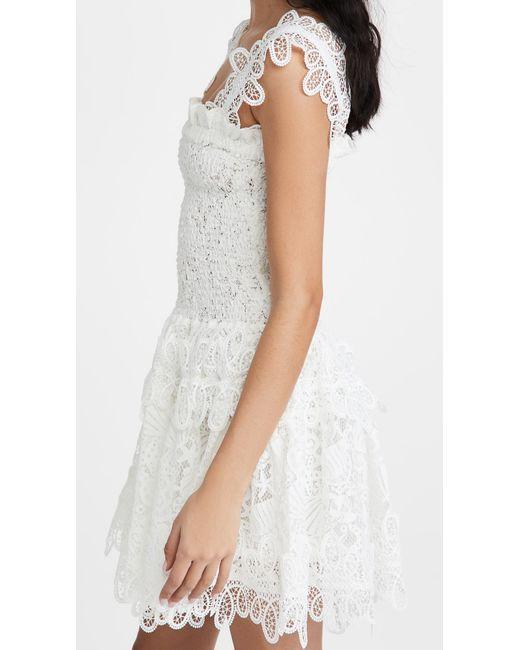 Waimari White Joy Mini Dress