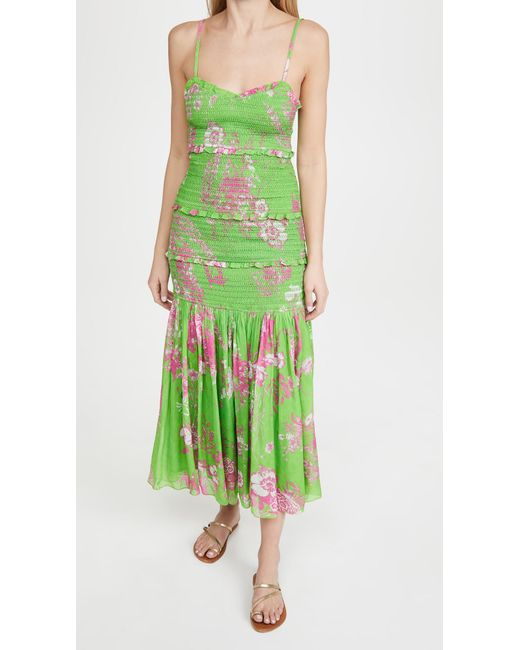 Hemant & Nandita Green Long Dress
