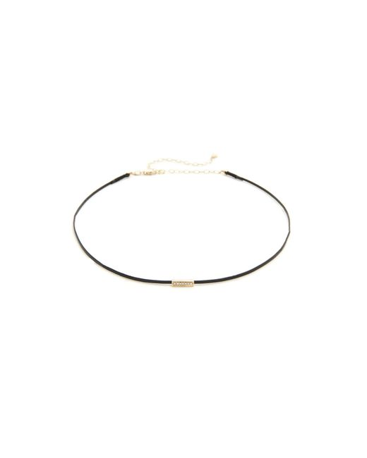 Sydney Evan | Black Mini Bar Bead Choker | Lyst