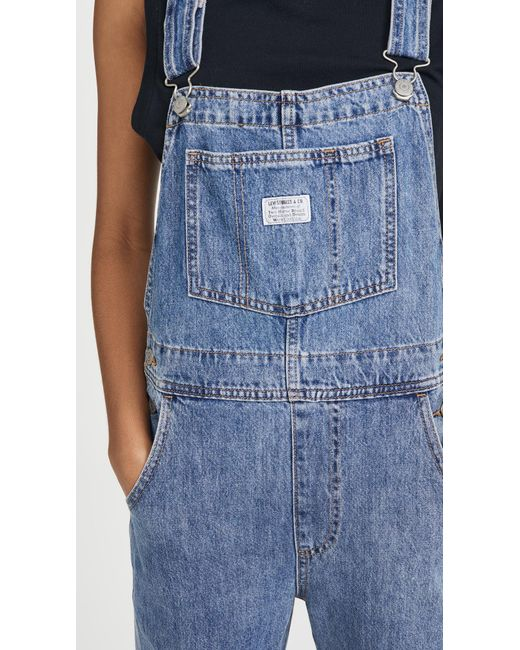 Levi's Blue Vintage Overalls
