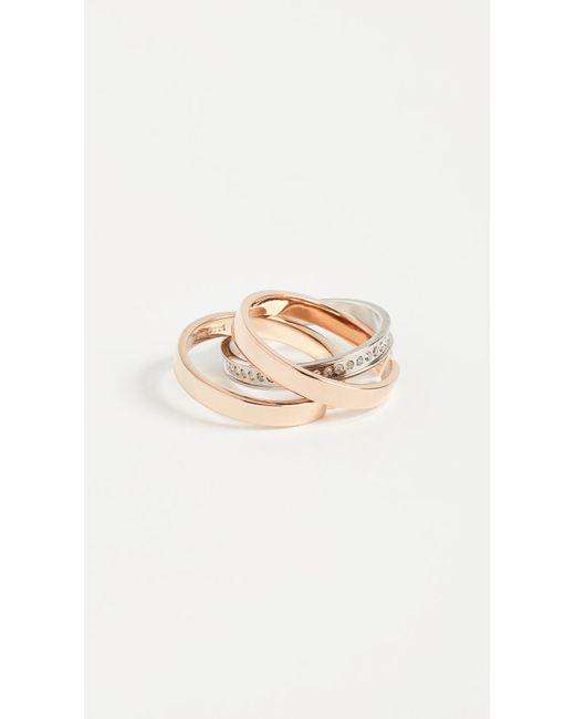 Vita Fede - Metallic Cassio Pave Ring - Lyst