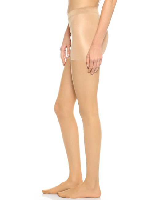 Wolford | Natural Individual 10 Control Top Tights | Lyst