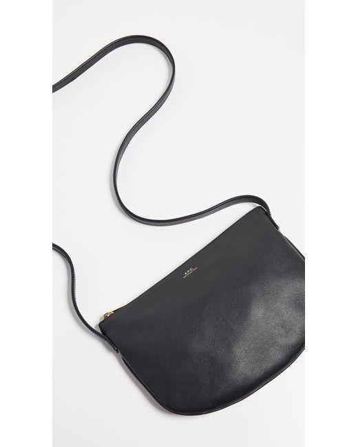 A.P.C. Black Maelys Bag