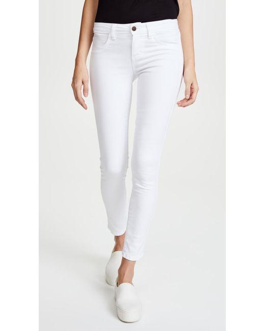 Siwy - Blue Hannah Slim Crop Jeans - Lyst