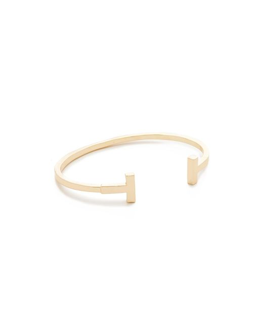 Shashi | Metallic Teagen Cuff Bracelet | Lyst