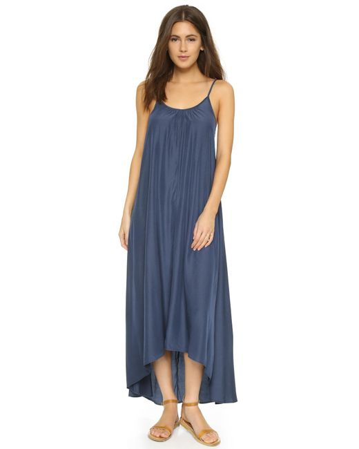 One By | Multicolor Resort Maxi Dress | Lyst