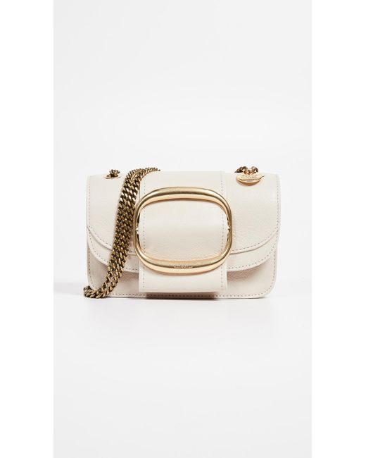 06a9c6418ff See By Chloé - Natural Small Shoulder Bag - Lyst ...