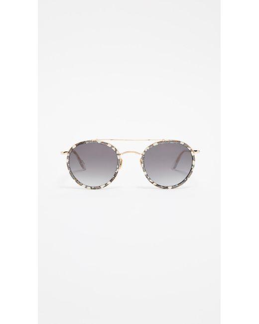 Krewe Multicolor Poydras Sunglasses