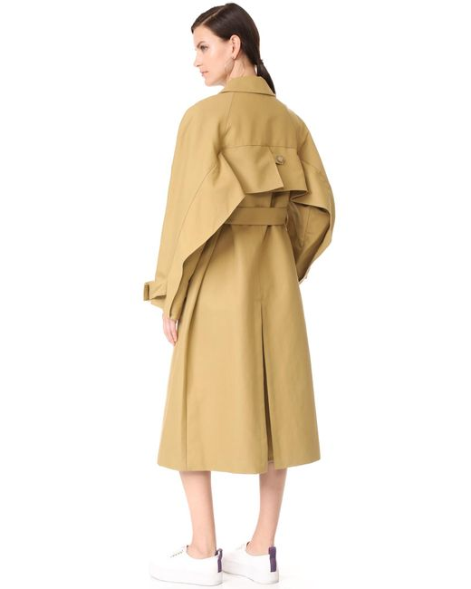 Tibi   Multicolor Trench Coat   Lyst