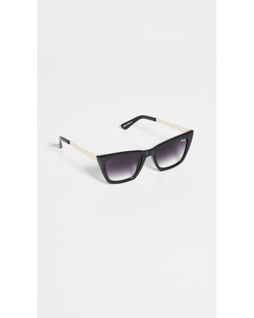 Quay Black Don't @ Me Sunglasses