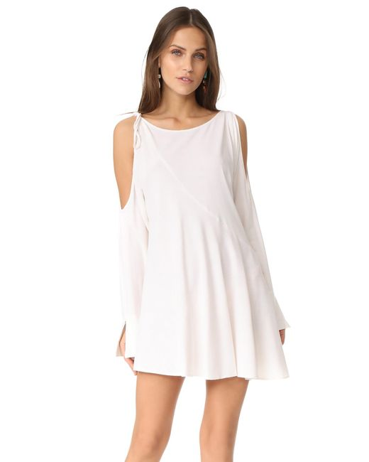 Free People | White Clear Skies Solid Tunic | Lyst