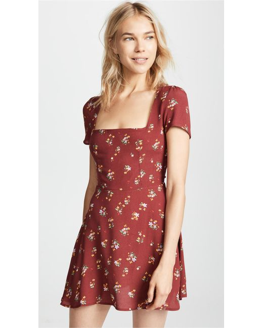 e8e5f629a509 Flynn Skye - Red Maiden Mini Dress - Lyst ...