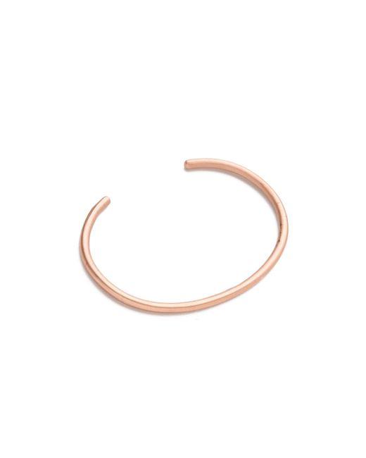 Gabriela Artigas - Pink Delicate Bracelet Cuff - Lyst