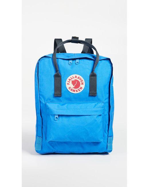 Fjallraven - Blue Kanken Backpack - Lyst