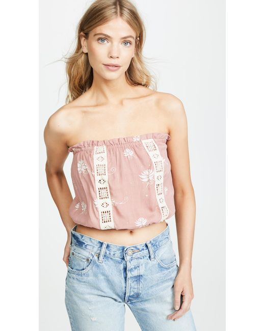 Cool Change - Pink Floating Lilly Sydney Top - Lyst