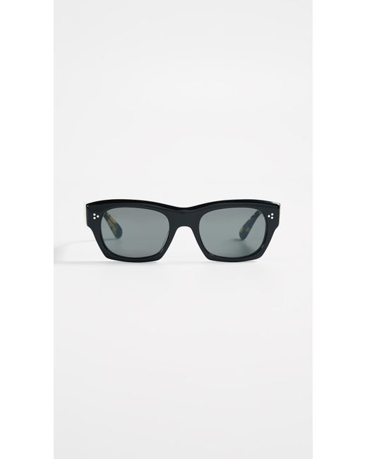 Black Isba Sunglasses Oliver Peoples F7ngZx